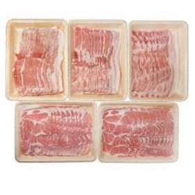 信州飯田のブランド豚「幻豚」 しゃぶしゃぶ用バラ肉&肩ロース(合計2.3kg)セット