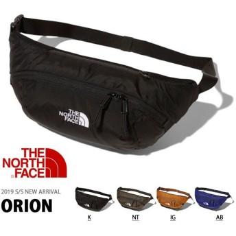 お一人様一点限り ウエストバッグ THE NORTH FACE ザ・ノースフェイス Orion メンズ レディース ポーチ 3L ボディバッグ ヒップバッグ nm71902