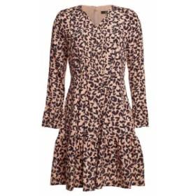シュテフェンスクラウト Knee length Dress レディース【Steffen Schraut Printed Silk Mini Dress】