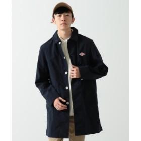 DANTON × BEAMS / 別注 ナイロンタフタ ステンカラー コート メンズ ステンカラーコート DEEP NAVY 38