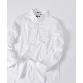 【30%OFF】 シップス SERO×SHIPS JET BLUE: 別注 コットンリネン ボタンダウンシャツ メンズ ホワイト SMALL 【SHIPS】 【セール開催中】