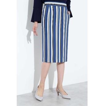 BOSCH / ボッシュ [ウォッシャブル]マルチストライプタイトスカート