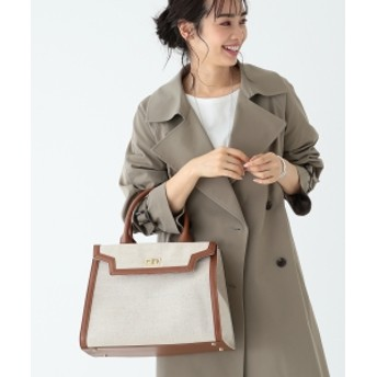 Le Vernis / アーバンフレーム バッグ レディース トートバッグ CAMEL ONE SIZE