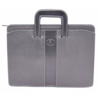 BURBERRYS バーバリーズ ビジネスバッグ ブリーフケース 書類鞄 レザー ブラック【本物保証】