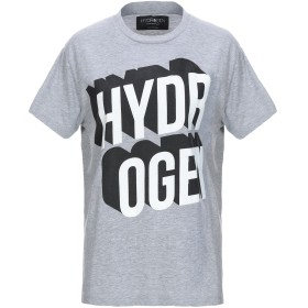 《セール開催中》HYDROGEN レディース T シャツ グレー XS コットン 75% / ポリエステル 25%