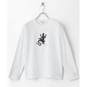 <アニエスベー オム/agnes b. HOMME> 長袖Tシャツ レザール WHITE【三越・伊勢丹/公式】
