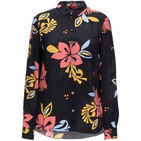 《期間限定セール開催中!》CHINTI AND PARKER レディース シャツ ブラック 8 シルク 100%