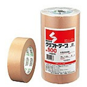 セキスイ/クラフトテープ 38mm×50m 6巻/NO.500