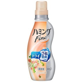 花王 ハミングファイン ヨーロピアンジャスミンスープの香り 本体 570ml 衣料用洗剤・仕上げ剤