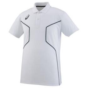 大特価 アシックス(asics) ポロシャツ  XA6225-01 メンズ・ユニセックス