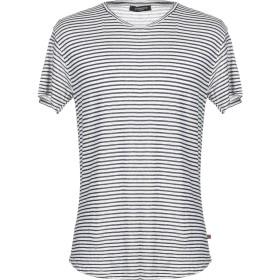 《送料無料》QUINTESSENCE メンズ T シャツ ダークブルー XL 麻 69% / レーヨン 31%