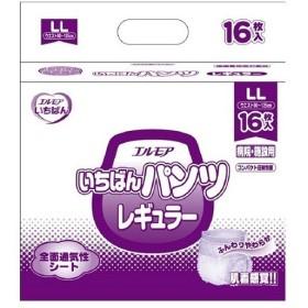 【訳あり 特価】 カミ商事 エルモア いちばん パンツレギュラー 病院・施設用 LLサイズ (16枚)