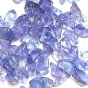 タンザナイト 細石 さざれ 小粒 4g ブルーゾイサイト
