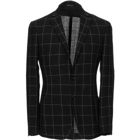 《期間限定セール開催中!》TONELLO メンズ テーラードジャケット ブラック 46 バージンウール 99% / ポリエステル 1%