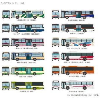 トミーテック ザ・バスコレクション 第25弾 (1BOX) 1/150(Nゲージスケール) 鉄道模型(ZN54726)
