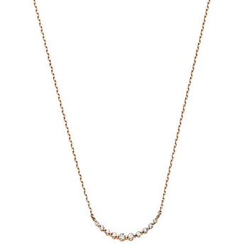 VENDOME AOYAMA ヴァンドーム青山 リュールシリーズ ダイヤモンド K10ピンクゴールドネックレス AJAN136340DI