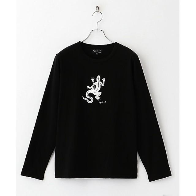 <アニエスベー オム/agnes b. HOMME> 長袖Tシャツ レザール BLACK 【三越・伊勢丹/公式】
