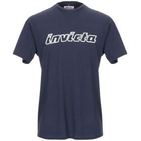 《セール開催中》INVICTA メンズ T シャツ ダークブルー M コットン 100%