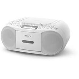 CDカセットレコーダー ホワイト CFD-S70-WC