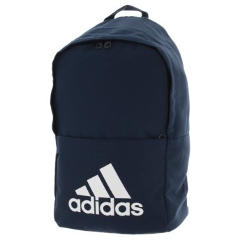 アディダス クラシックロゴ バックパックM (DM7677) 22L デイパック リュック : ネイビー adidas