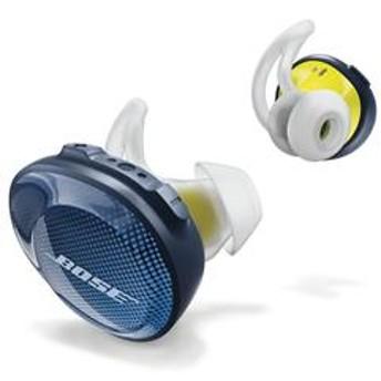 ワイヤレスヘッドホン SoundSport Free Wireless Headphones ミッドナイトブルー×イエローシトロン SSportFree-BLU
