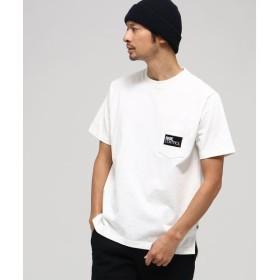 BASE STATION / ベースステーション 【WEB限定】胸BOXロゴ刺繍 半袖Tシャツ