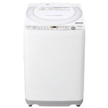 全自動洗濯機 ホワイト系【洗濯7kg】★大型配送対象商品 ES-GE7C-W