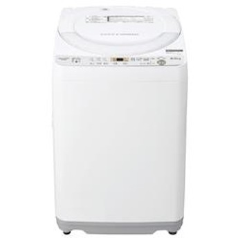 全自動洗濯機 ホワイト系【洗濯6kg】 ES-GE6C-W