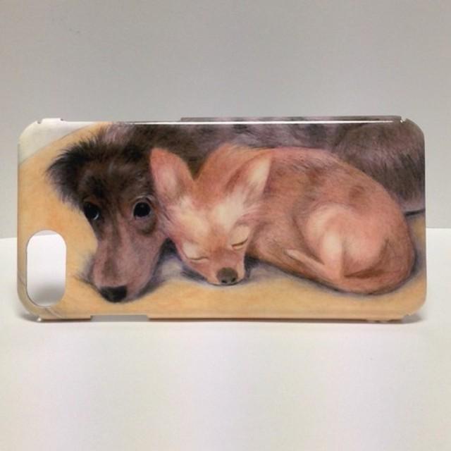 00ae35c8fc iPhone7 iPhone8 ハードケース 犬 チワワ ダックスフンド スマホケース ...