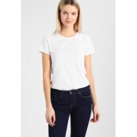 ギャップ Tシャツ トップス カットソー レディース【GAP VINT CREW - Basic T-shirt - optic white】optic white