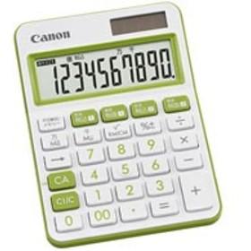 CANON/カラフル電卓 ミニ卓上 グリーン LS-105WUC-GR/2306C001