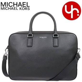 マイケルコース MICHAEL KORS バッグ ビジネスバッグ 37T7LRUA3L ブラック ラッセル レザー メンズ ラージ ブリーフケース アウトレット メンズ レディース