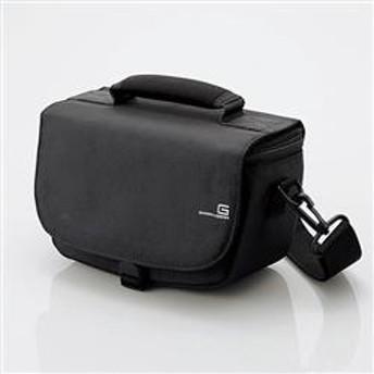 GRAPHGEAR(グラフギア)ミラーレス一眼カメラ用バッグ 2Wayタイプ ブラック DGB-S017BK