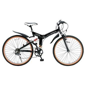マイパラス M-670-BK ブラック [折りたたみATB(26インチ) 6段変速] 折りたたみ自転車・ミニベロ