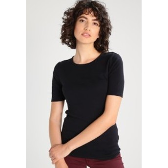 JCREW Tシャツ トップス カットソー レディース【 PERFECT SLIM FIT - Basic T-shirt - black】black