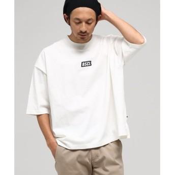 BASE STATION / ベースステーション WEB限定 胸ロゴ刺繍 スーパービッグシルエット Tシャツ【BSCL】