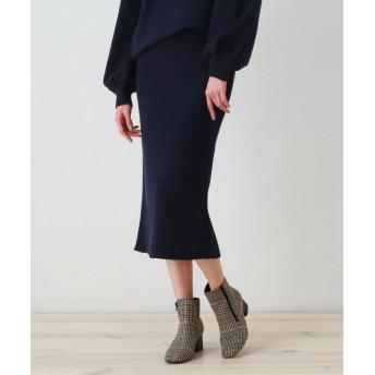 OZOC オゾック ニットナロースカート