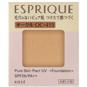 コーセー エスプリーク ピュアスキンパクトUVOC-415オークル9.3g(レフィル)