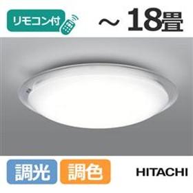 リモコン付 LEDシーリングライト (~18畳) LEC-AHS1810K