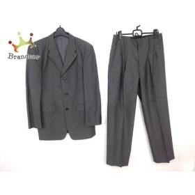 ムッシュニコル monsieur NICOLE シングルスーツ サイズ50 メンズ ライトグレー     スペシャル特価 20190806【人気】
