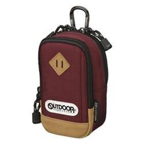 OUTDOOR PRODUCTS(アウトドアプロダクツ) カメラポーチ 01 バーガンディ ODCP01BGD