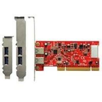 インターフェース/PCI対応のUSB3.0増設ボード USB3.0R-P2-LPPCI USB3_0R-P2-LPPCI