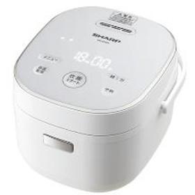 【シャープ】 ジャー炊飯器 KS-CF05A-W マイコン5合以下