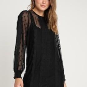 ミンクピンク バレエシューズ パンプス レディース【MINKPINK LAYLA DRESS - Day dress - black】black