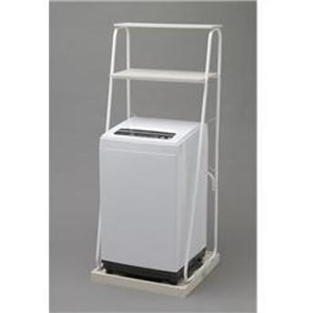 全自動洗濯機[えりそでクリップボード付][ランドリーラック付]ホワイト【ノンインバータ/洗濯5.0kg】 IAW-T501R