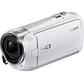 デジタルHDビデオカメラレコーダー Handycam(ハンディカム) 内蔵メモリー32GB ホワイト HDR-CX470-W