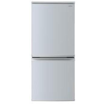 冷蔵庫 シルバー系【2ドア/つけかえどっちもドア/137L】 SJ-D14E-S
