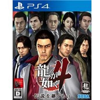 【PS4】 龍が如く4 伝説を継ぐもの PLJM-16246