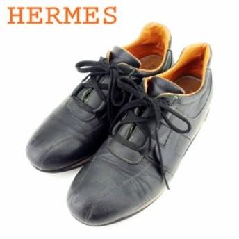 エルメス HERMES スニーカー シューズ シューズ 靴 メンズ 【中古】 T8982