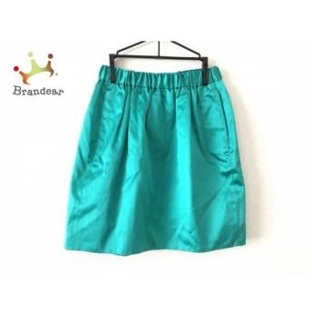 ドゥロワー Drawer スカート サイズ36 S レディース 美品 グリーン       スペシャル特価 20191223